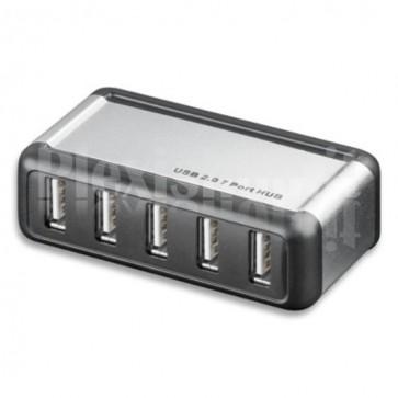 Hub USB 2.0 7 porte con Alimentatore