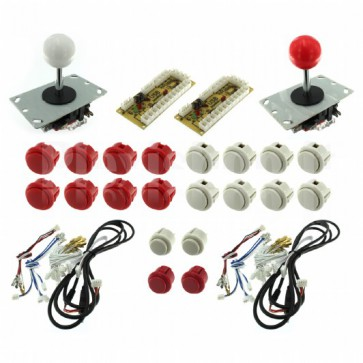 Kit Arcade usb joystick e 20 pulsanti per due giocatori