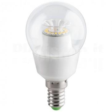Lampada a LED E14 4.5W 350 Lumen Bianco Caldo, Classe A+