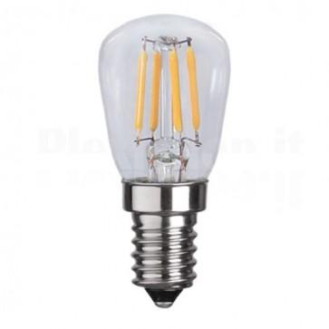 Lampada LED E14 Bianco Caldo 2.5W Filamento Classe A++
