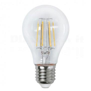 Lampada LED Globo E27 Bianco Caldo 6.5W Filamento Classe A++