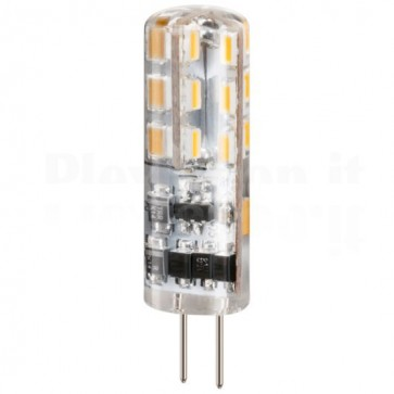 Lampada LED SMD G4 1,2W Bianco Caldo, Classe A+