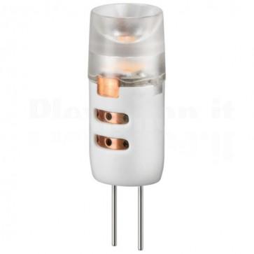 Lampada LED SMD G4 1,2W Bianco Caldo, Classe A++