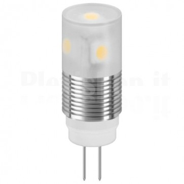 Lampada LED SMD G4 1,6W Bianco Caldo, Classe A++