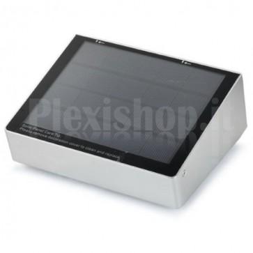 Lampada LED Solare in Alluminio da Esterno con Sensore di Movimento