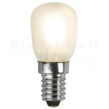 Lampada LED E14 Bianco Caldo 1,3W Filamento Classe A++