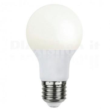 Lampada LED E27 con Sensore Crepuscolare 7W Classe A+