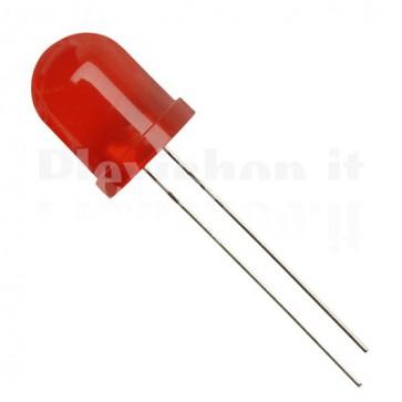 Led 10mm Rosso - Lente Rossa