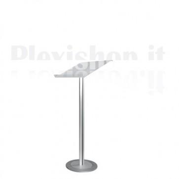 Satin Plexiglass Desk