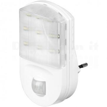Luce Notturna LED con Sensore di Movimento ad Infrarossi, A+