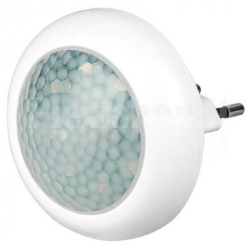 Luce Notturna LED Rotonda con Sensore di Movimento ad Infrarossi, A++