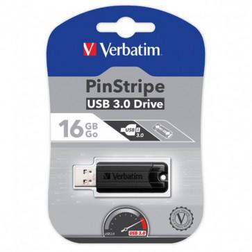 Memoria USB 3.0 PinStripe da 16Gb Colore Nero