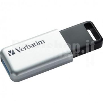 Memoria USB 3.0 Verbatim con Crittografia AES 32GB Silver
