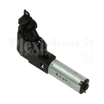 Electric micro motor with gear box speed reduction and optical encoder, 5VDC 150rpm