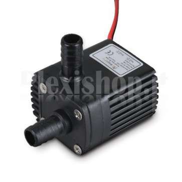 Micro submersible pump Docooler Ultra-quiet Mini brushless 12V, 240 l/h.