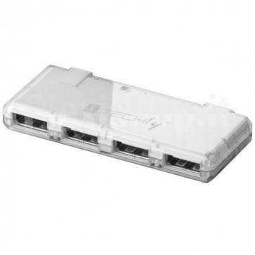 Mini Hub USB Hi Speed 4 Porte Bianco