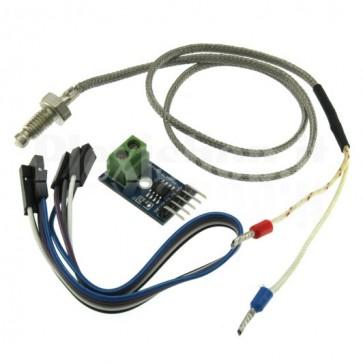 Modulo con sensore di temperatura a termocoppia PT100 Tipo K e convertitore digitale MAX6675