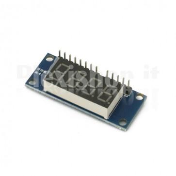 4 digit display module