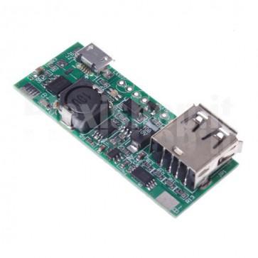 Modulo DIY Power Bank per batterie al litio da 3.7V