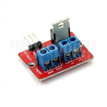 Driver module with MOSFET