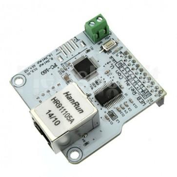 Modulo Ethernet di controllo per 8 Relay indipendenti, ENC28J60