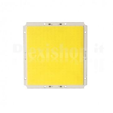 Modulo LED quadrato COB a luce fredda, 100mm 120W 12000lm
