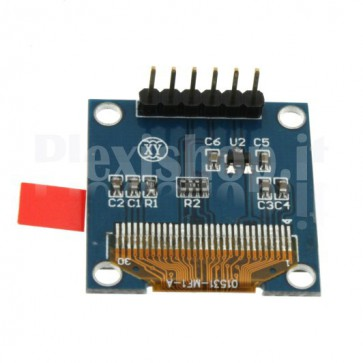"""OLED LCD Blue and Yellow Display 0.96 """"SPI 6pin"""