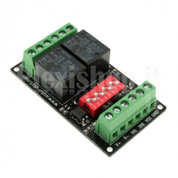 2 Channel high-speed optoinsulated Relay Module, 10A 24V