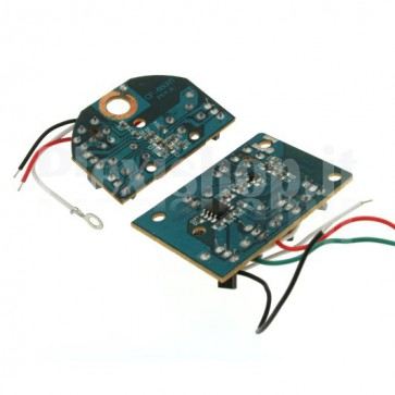 Radio control transmitter and receiver module