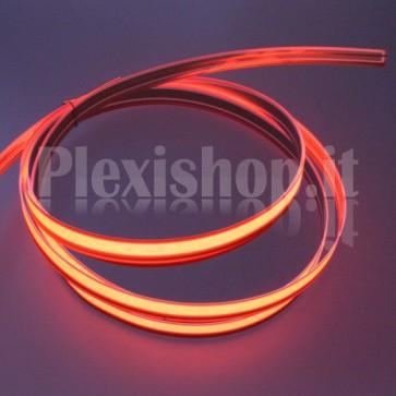Nastro elettroluminescente ROSSO H10 mm - 2m