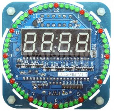 KIT (DIY - Fai da te) orologio digitale elettronico a 5V, DS1302