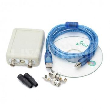 Oscilloscopio USB per PC due canali