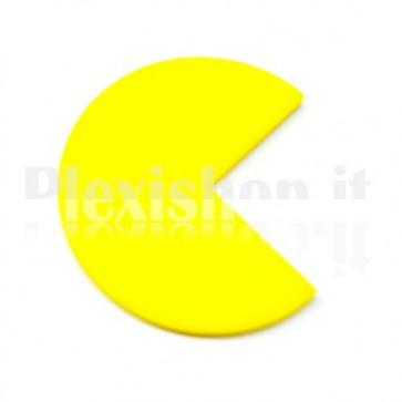 2 Yellow Pacman Plexiglass