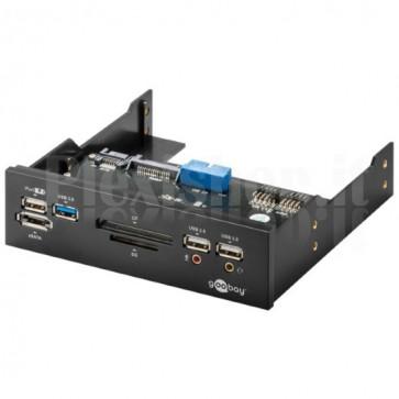 Pannello Frontale Multifunzione USB 3.0 da 5.25'