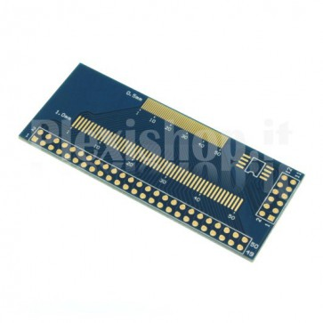 PCB adapter for SMD LCD display to DIP