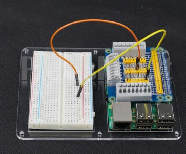 Piastra + breadboard per Raspberry Pi 3 B, Pi 2 B e Pi B+