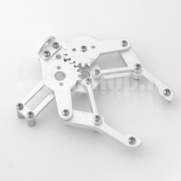 Pinza meccanica per robot obbistici