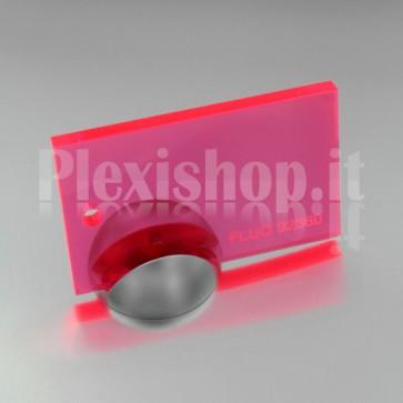Plexiglass 92360 Rosso Fluorescente