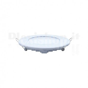 White Round Led Panel Ø 200 mm 16W - Cool White