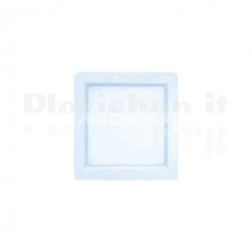 White Square Led Panel 200 x 200 mm 15W - Cool White