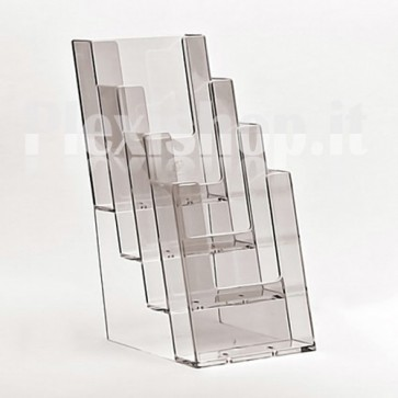 4 Pocket A6 brochure holder