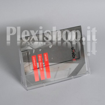 Single Brochure Holder A4 Horizontal (297 × 210 mm)