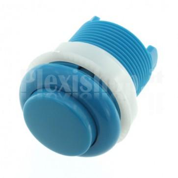 Pulsante tondo di colore blu, 35mm 1A