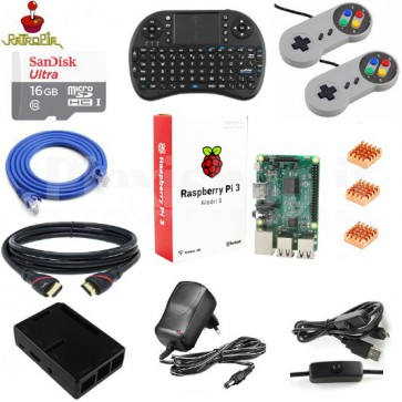 Kit RetroPie basato su Raspberry Pi 3 model b