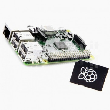 Raspberry Pi Model B+ con SDCard 8GB NOOBS