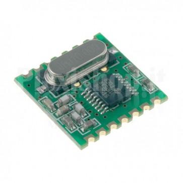Modulo Ricetrasmettitore Dati RFM12B - 868 MHz