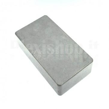 Scatola alluminio pedaliera 122x66x39.5