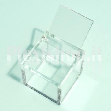 Acrylic Box 4x4x4 cm Plexiglass
