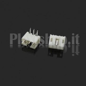 Connettore angolare PH2.0-p da circuito stampato, 2 contatti