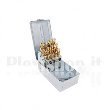 25 drill bits set
